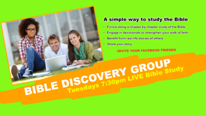Facebook – Bible Discovery Teens