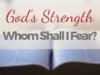 Gods Strength
