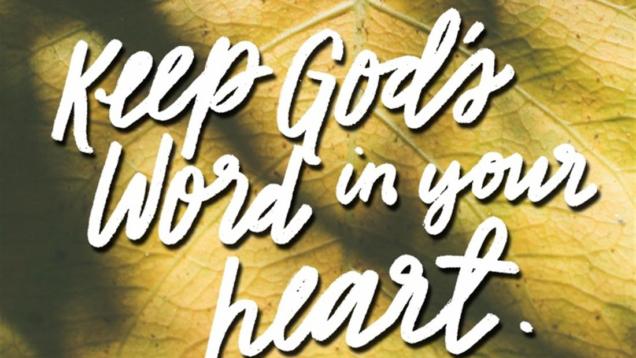 Gods Word Hidden in my heart