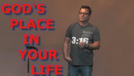 God's place in your life